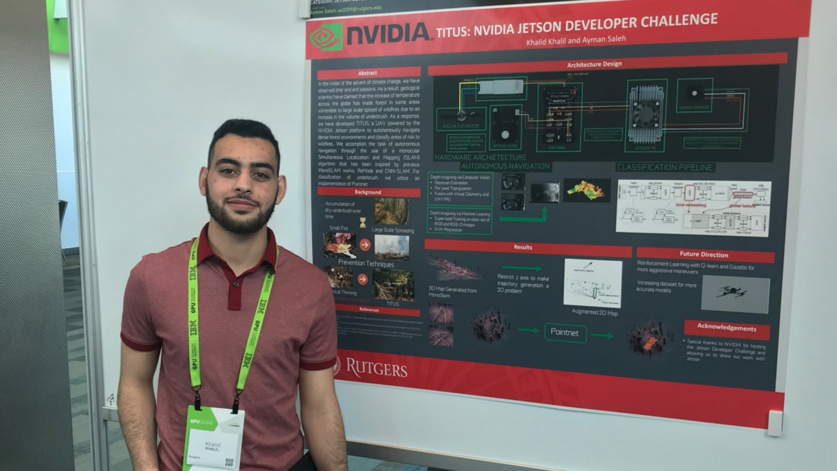 Titus project on NVIDIA's GPU Technology Conference